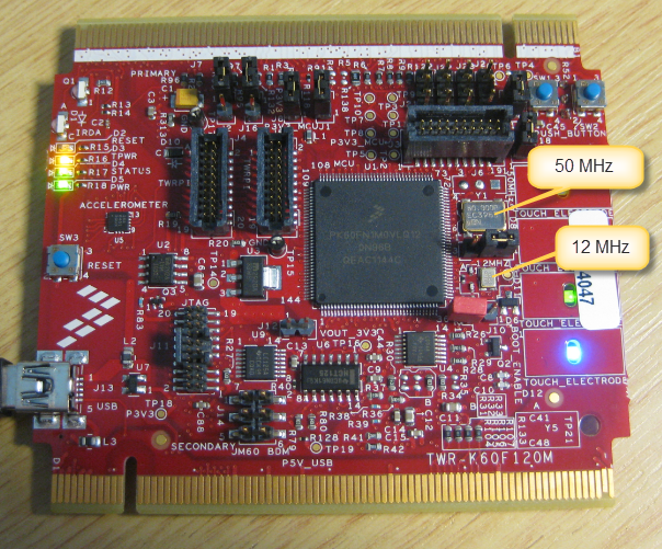 TWR-K60F120M, NXP SEMICONDUCTORS